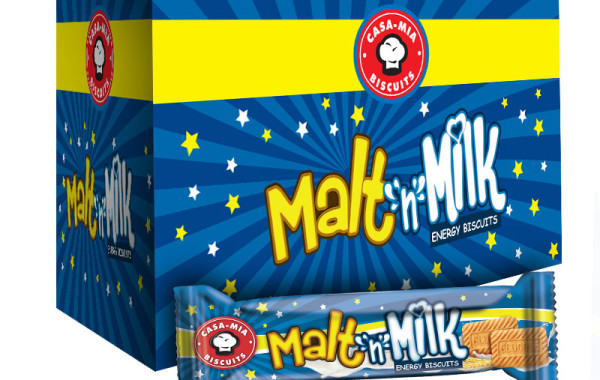 Malt n Milk Energy Biscuits